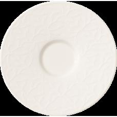 Podšálka pod šálku na bielu kávu CAFE CLUB FLORAL TOUCH 0,17cm