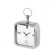 Stolové hodiny CHUCK silver, 20cm