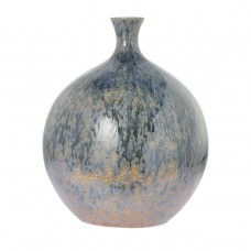 Váza LYNTON, sivo/hnedá, 34cm