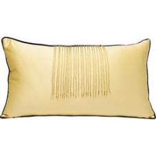Vankúš so strapcami GOLD, 28x50cm