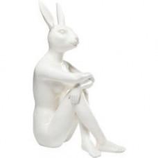 Zajac GANGSTER biely, polyrezín