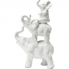 Slonia rodinka, 46cm, keramika