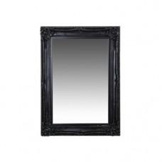 Zrkadlo DORIAN L119 W88 čierne