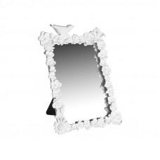 Zrkadlo COUNTRY H23 biele