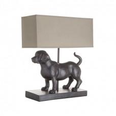 Stolná lampa DOG H40 hnedá