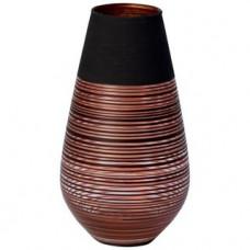 Váza manufacture Swirl, 18cm, sklo